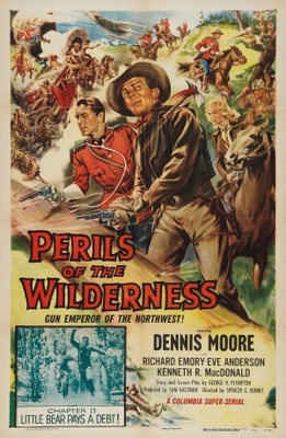 Perils of the Wilderness movie poster (1956) poster MOV_0e9d6492