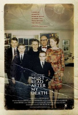Must Read After My Death movie poster (2007) poster MOV_0e9fb405