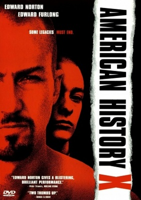 American History X movie poster (1998) poster MOV_0eb35e11