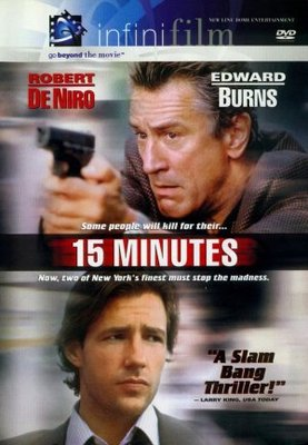 15 Minutes movie poster (2001) poster MOV_0eb9bd1f