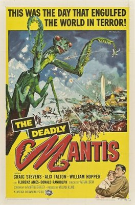 The Deadly Mantis movie poster (1957) poster MOV_0ec0092c