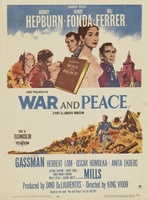 War and Peace movie poster (1956) picture MOV_0ecf57cd