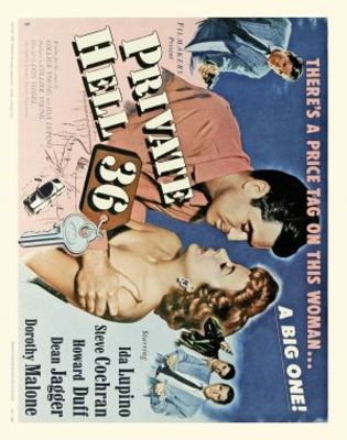 Private Hell 36 movie poster (1954) poster MOV_0ed38a9a