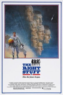 The Right Stuff movie poster (1983) poster MOV_0ee43afb
