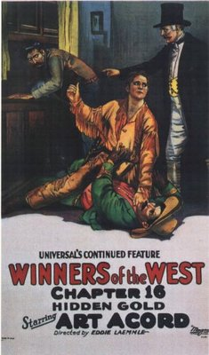 Winners of the West movie poster (1921) poster MOV_0ee799aa