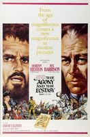 The Agony and the Ecstasy movie poster (1965) picture MOV_0ef7fb8d