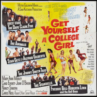 Get Yourself a College Girl movie poster (1964) picture MOV_0exzucwf
