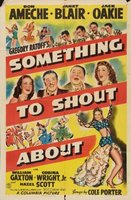 Something to Shout About movie poster (1943) picture MOV_0f1a8137