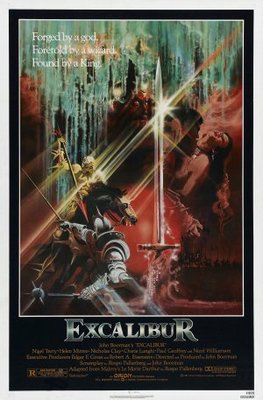 Excalibur movie poster (1981) poster MOV_0f1af559