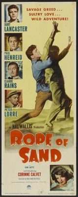 Rope of Sand movie poster (1949) poster MOV_0f1dfdc1
