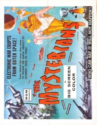 Chikyu Boeigun movie poster (1957) poster MOV_0f2e1311