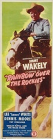 Rainbow Over the Rockies movie poster (1947) picture MOV_0f331e3a