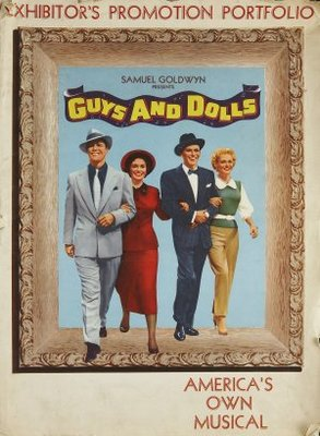 Guys and Dolls movie poster (1955) poster MOV_0f42a5a0