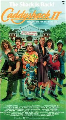 Caddyshack II movie poster (1988) poster MOV_0f47bed4