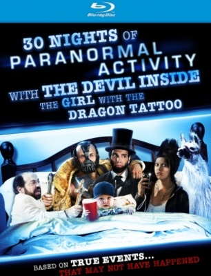 30 Nights of Paranormal Activity with the Devil Inside the Girl with the Dragon Tattoo movie poster (2012) poster MOV_0f4b883d