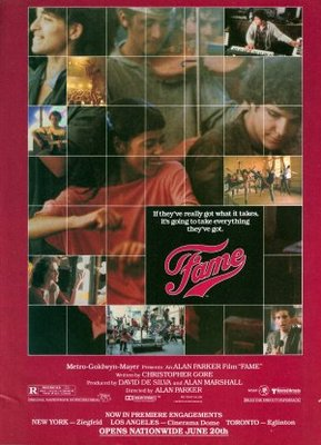 Fame movie poster (1980) poster MOV_0f59decf