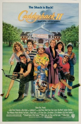 Caddyshack II movie poster (1988) poster MOV_0f61d5b8
