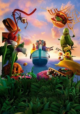 Cloudy with a Chance of Meatballs 2 movie poster (2013) poster MOV_0f721216