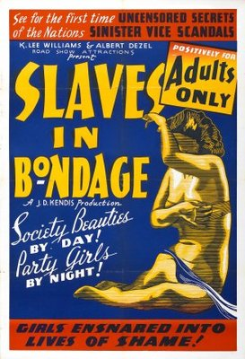 Slaves in Bondage movie poster (1937) poster MOV_0f856e1b