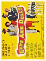 Guys and Dolls movie poster (1955) picture MOV_0f9f712b