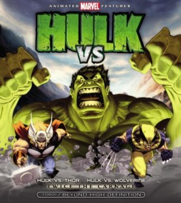 Hulk Vs. movie poster (2009) poster MOV_0fa34d23