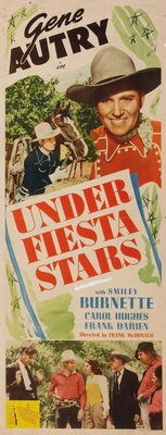 Under Fiesta Stars movie poster (1941) poster MOV_0fa73aad