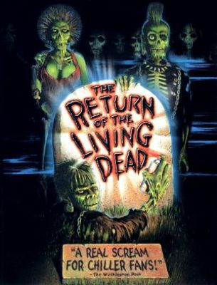 The Return of the Living Dead movie poster (1985) poster MOV_0fad21f5