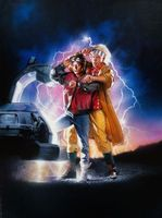 Back to the Future Part II movie poster (1989) picture MOV_0fce704e