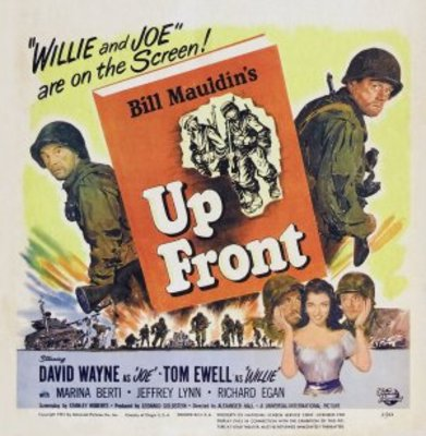 Up Front movie poster (1951) poster MOV_0ffbc09f