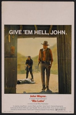 Rio Lobo movie poster (1970) poster MOV_0fff65a0