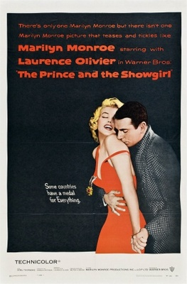The Prince and the Showgirl movie poster (1957) poster MOV_100ab681