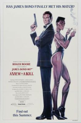 A View To A Kill movie poster (1985) poster MOV_1016e235