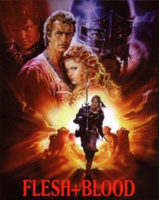 Flesh And Blood movie poster (1985) poster MOV_101e0d55