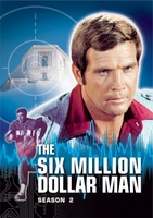 """The Six Million Dollar Man"" movie poster (1974) picture MOV_103a73a0"