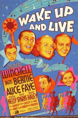 Wake Up and Live movie poster (1937) poster MOV_104840a7