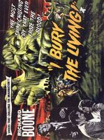 I Bury the Living movie poster (1958) picture MOV_107b3309