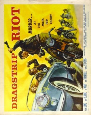 Dragstrip Riot movie poster (1958) poster MOV_10981649