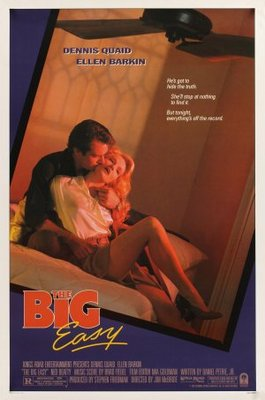 The Big Easy movie poster (1987) poster MOV_109e5c90