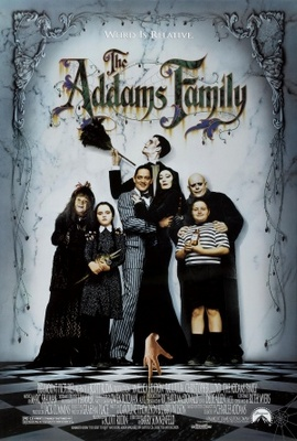 The Addams Family movie poster (1991) poster MOV_10b52a0f