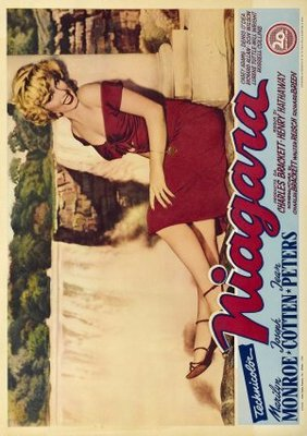 Niagara movie poster (1953) poster MOV_10cf24f1