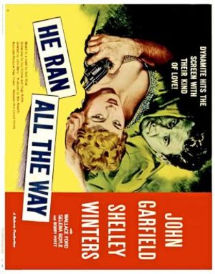 He Ran All the Way movie poster (1951) poster MOV_10cfafff