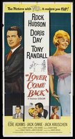 Lover Come Back movie poster (1961) picture MOV_10eda66b