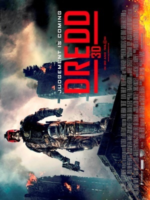Dredd movie poster (2012) poster MOV_10f9675a