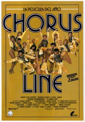 A Chorus Line movie poster (1985) poster MOV_110a2e42