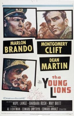 The Young Lions movie poster (1958) poster MOV_111ad460