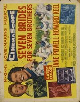 Seven Brides for Seven Brothers movie poster (1954) picture MOV_115a100e