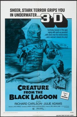 Creature from the Black Lagoon movie poster (1954) poster MOV_116a9a2a