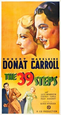 The 39 Steps movie poster (1935) poster MOV_116c6f06