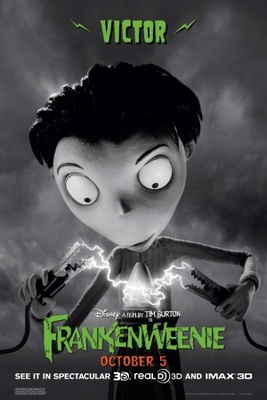 Frankenweenie movie poster (2012) poster MOV_11796c33
