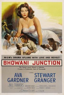 Bhowani Junction movie poster (1956) poster MOV_11877368